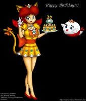 Happy Birthday Princess Daisy by Magnus-Bowser
