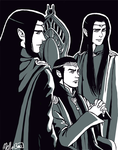 Father and Sons by MellorianJ