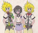 Ventus, Roxas, and Xion by Pure-Resonance
