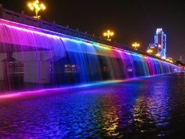 banpo bridge in seoul by TwisterWithEunHae