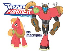 Transformares Big Macintosh by Inspectornills