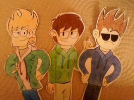 Eddsworld Papers Characters :3 by Jean-Kirschstein
