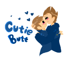 Cutie Butts by MindART-ftw