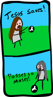 Jesus saves by kaolincash