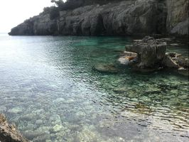 Cala Fustam by Jessuanny