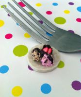 Miniature Ice cream by KrystalsTinyCakery