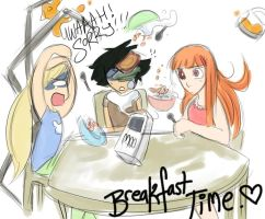Non-Puff Breakfast Time by BeeAre