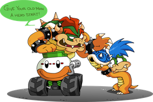 No Kart for Old Koopas by professorfandango