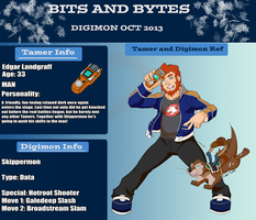 Bits and Bytes app: Edgar and Skippermon by KingdomBlade