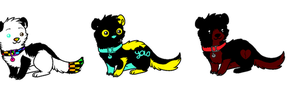 2 point Weasle adopts by 6LITCH-TH3-W01F