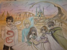 Tsubasa Reservoir Chronicle and Me ! by MiariSama
