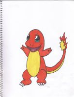 Charmander by SharpieObsessed