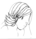 Side View Face Lady by Anrisa