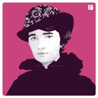 Margaret Sanger by monsteroftheid