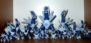 Dialga Collection by Ilona-the-Sinister