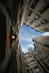a courtyard in paris by genr