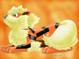 Fiery Arcanine by igtica