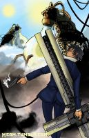 Wolfwood by Meam-chan