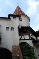 Bran Castle Turret by Saved-from-Myself