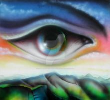 Eye airbrush by StephanusEmbricanus