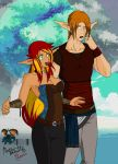 A common pair by AceofMana