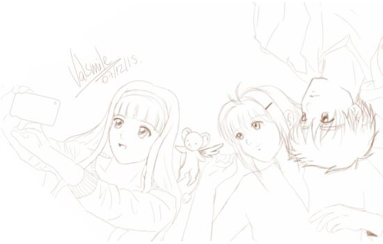 30dayOTPchallenge - 9. Hanging out with friends by ValSmile