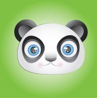 Panda Icon by MidniteHearts