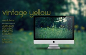 Vintage Yellow by sabioingrato