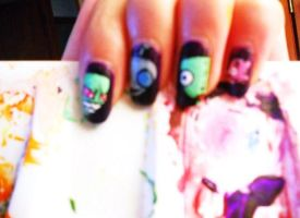 Invader Zim Nails. by marissa287