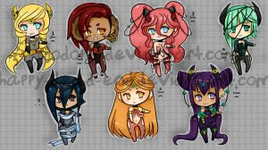 Deadly Sins Adopts Auction Ended by DeadEndAdopts