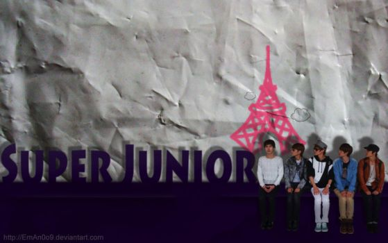 Super Junior in Europe by EmAn0o9