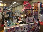 Everfree Northwest Vendor Table Day 2 - 5/13/17 by RubioWolf