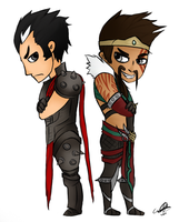 Draven and Darius by D-Dragons