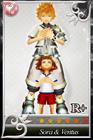 {Request} [KHX Card] - Sora and Ventus by SnowEmbrace