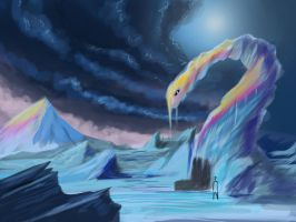 CW: Ice Formation speedpainting 40 min by GDSWorld