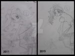 Before and After by 786sanary123