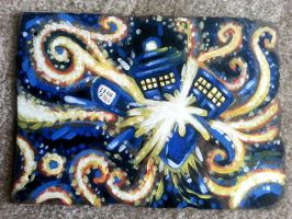 Tardis Van Gogh by briteddy