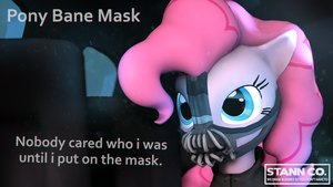 Pony Bane Mask by jack27121