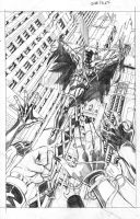 Batman Crucifixion pg 5. by JoeRuff