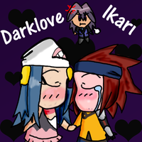 RQ- DarkLoveIkari chibis by Warped-Dragonfly