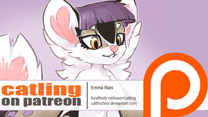 patreon launch! ~ early bird tier available by catfinches