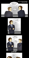 Actual Shipper, Sam Winchester by chibi-rice-ball-chan