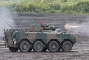 Type 96 Armored Personnel Carrier by DDmurasame