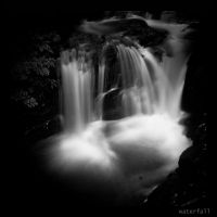water falls by korrox