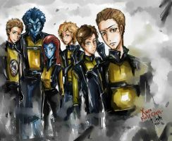 X-men First Class by chriztaychuang
