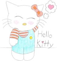 hello kitty by SicAnne