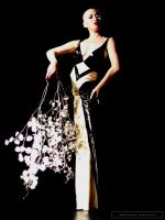 Kumi in Black and White by fiercecouture