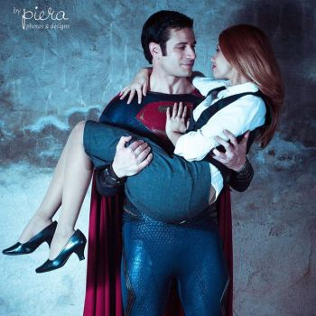 Superman and Lois by xmanofsteelx