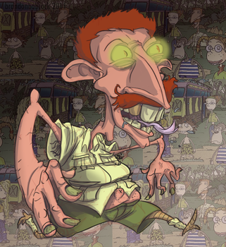 Nigel Thornberry by Monotypical