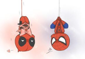Spideypool_2 by neko1217